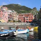 Vernazza Harbor, Cinque Terre, Italy