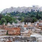 Agora and Acropolis, Athens, Greece