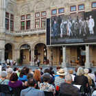 Outdoor Opera Screen, Vienna, Austria