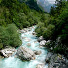 Soca River, Julian Alps, Slovenia