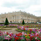 Palace from Gardens, Versailles, Paris, France