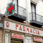Pharmacy Sign, Italy
