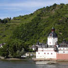 Pfalz Castle Exterior, Rhine Valley, Germany