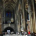 St. Stephen's Cathedral Interior, Vienna, Austria