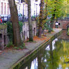 Canal in Utrecht, Netherlands