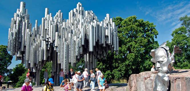 Sibelius Monument, Helsinki, Finland