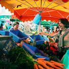 Market Shoppers, Aix-en-Provence, France