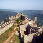 Peyrepertuse Castle, Pyrenees, France