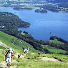Wansfell Hikers and Windermere, Lake District, England