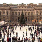 Public Ice Skating, Somerset House, London, England