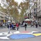 Miro Street Mosaic, Ramblas, Barcelona, Spain