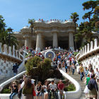 Parc Guell Entry, Barcelona, Spain