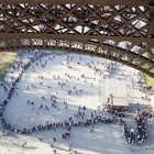 Waiting Line, Eiffel Tower, Paris, France