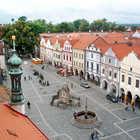 Pedestrian Street, Trebon, Czech Republic