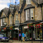 Street scene, Pitlochery, Scotland