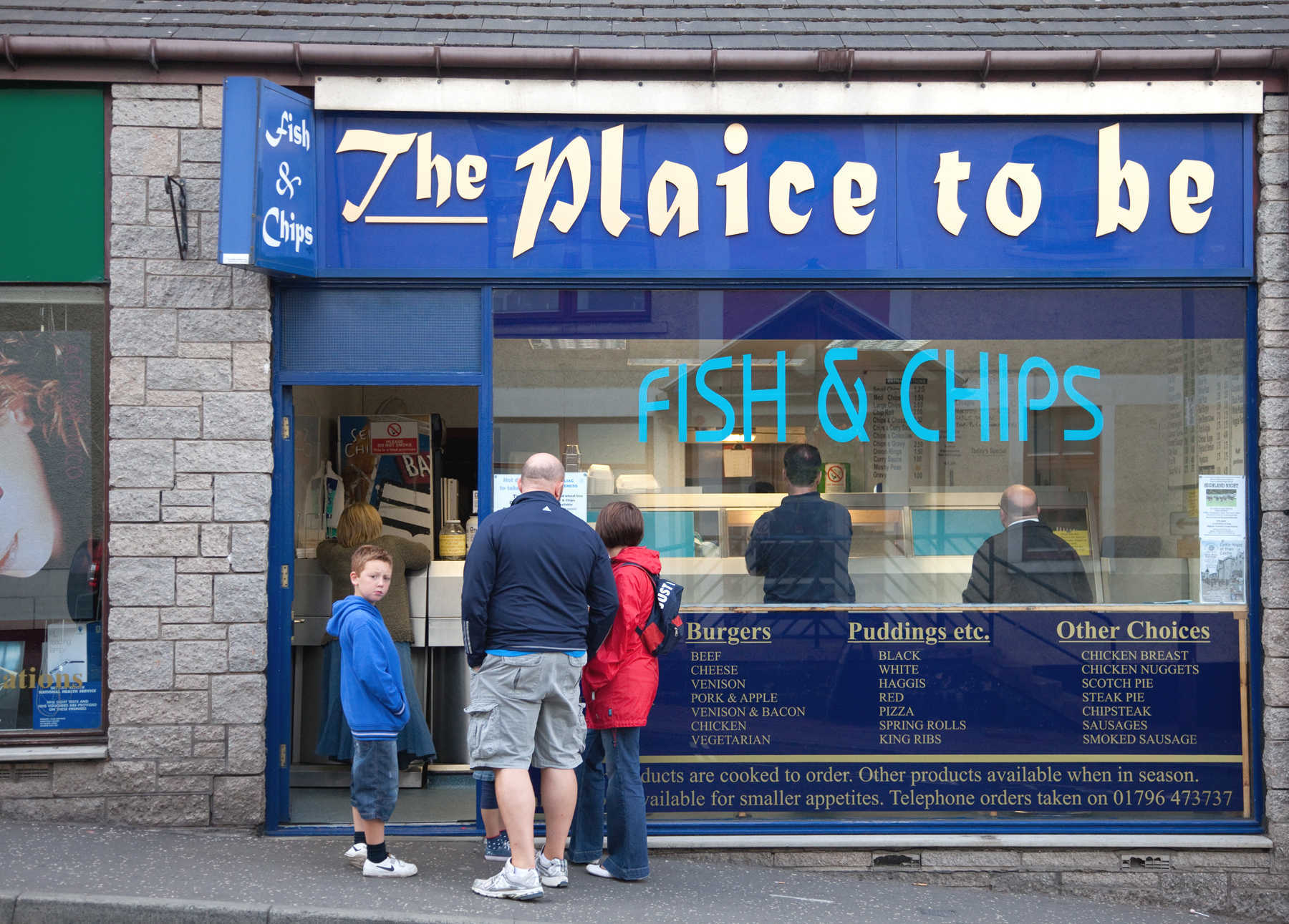 Fish & Chips in Britain