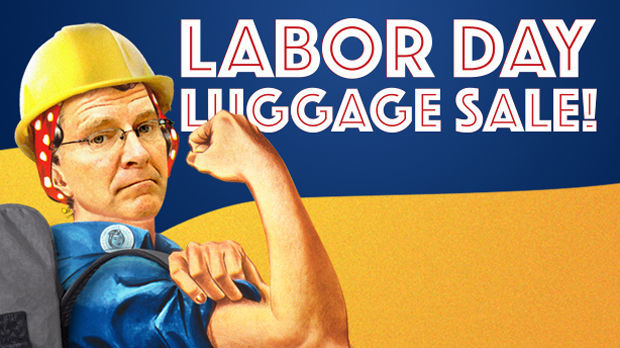 Rick Steves as Rosie the Riveter - Labor Day Sale