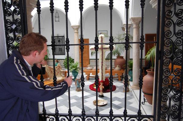 Patio in Cordoba, Andalucia, Spain