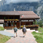 Mountain Hostel, Gimmelwald, Berner Oberland, Switzerland
