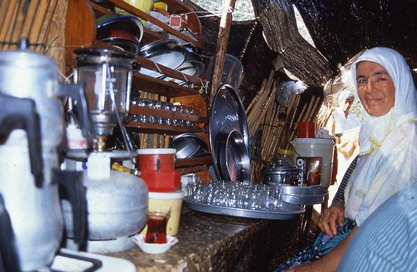 Black Tent Woman, Turkey