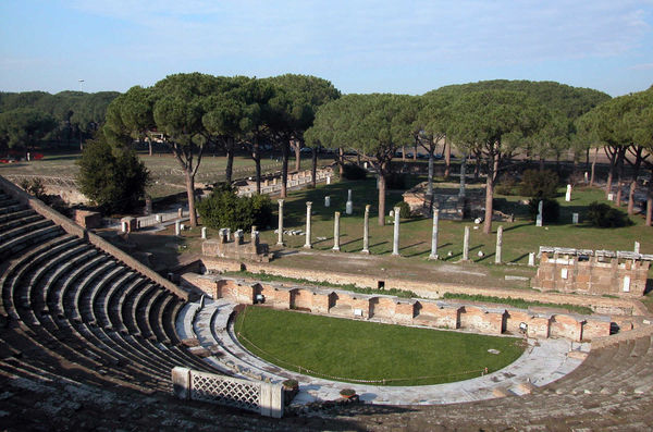 Roman Theater, Ostia Antica, Italy