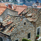 Roof Tiles in Dubrovnik, Croatia