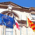 Flags, Aix-en-Provence, France