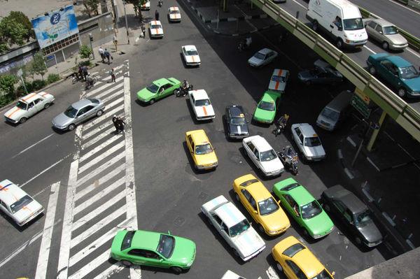 Traffic, Teheran, Iran