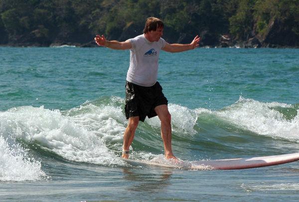 Rick Surfing, Costa Rica