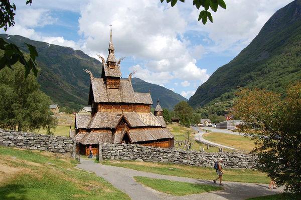 Hopperstad Stave Church, Balestrand, Norway