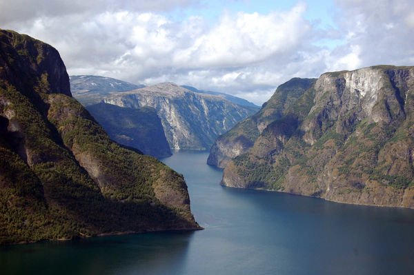 View of Sognefjord, Norway