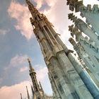 Duomo Spires, Milan, Italy