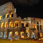 Colosseum Exterior Night, Rome, Italy