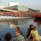 Outdoor Crowd, Opera House, Oslo