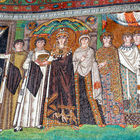 Mosaic of Theodora, San Vitale Church, Ravenna, Italy