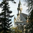 Neuschwanstein Castle Tower, Bavaria, Germany