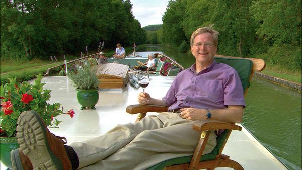 Rick Steves on River Barge, Burgundy, France