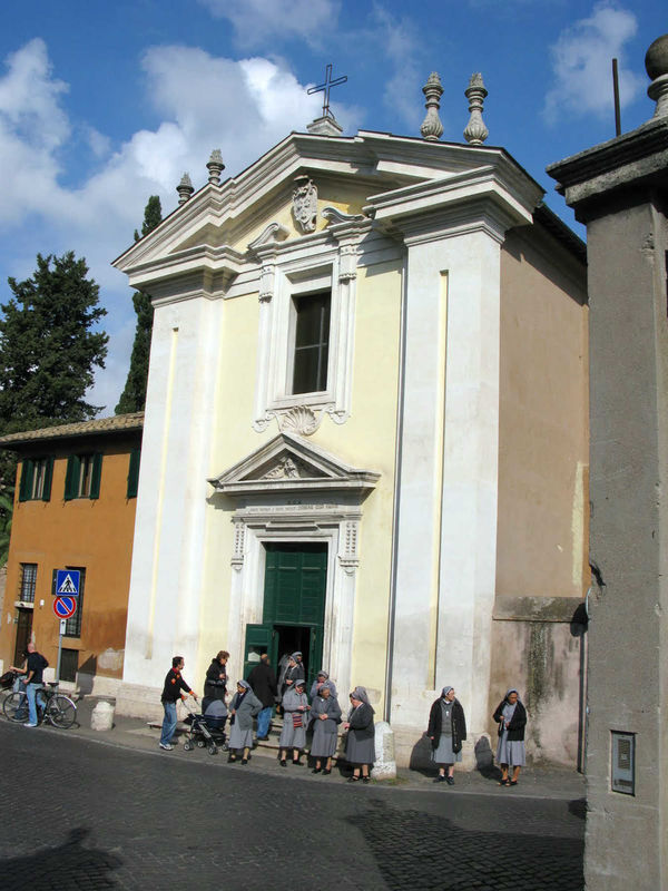 Domaine Quo Vadis Church, Appian Way, Rome, Italy