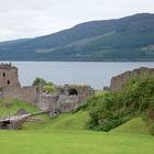 View of Urquhart Castle, Loch Ness, Highlands, Scotland