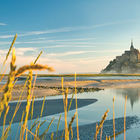 Mont St Michel in the morning