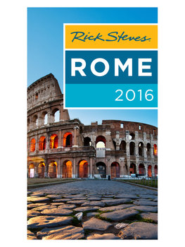 Rome 2016 Guidebook